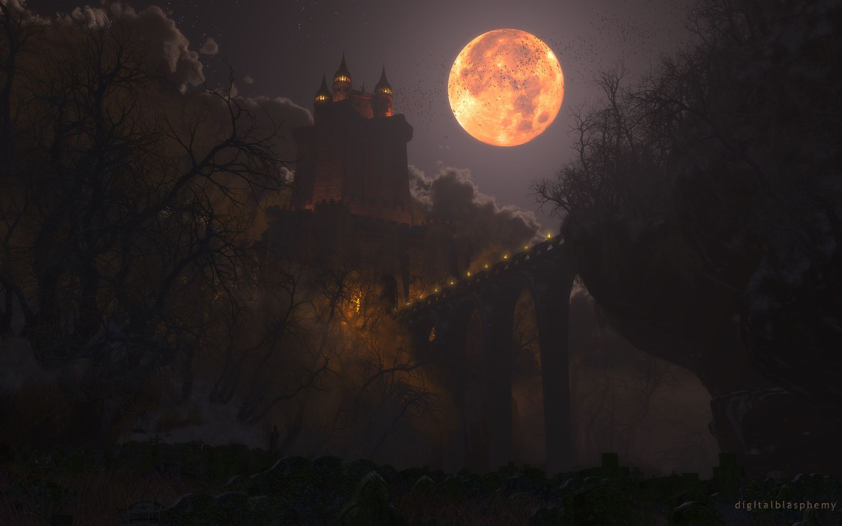 Castle Dracula 1920 x 1200 Wallpapers Wallpapers Pictures Picc 1680x1050