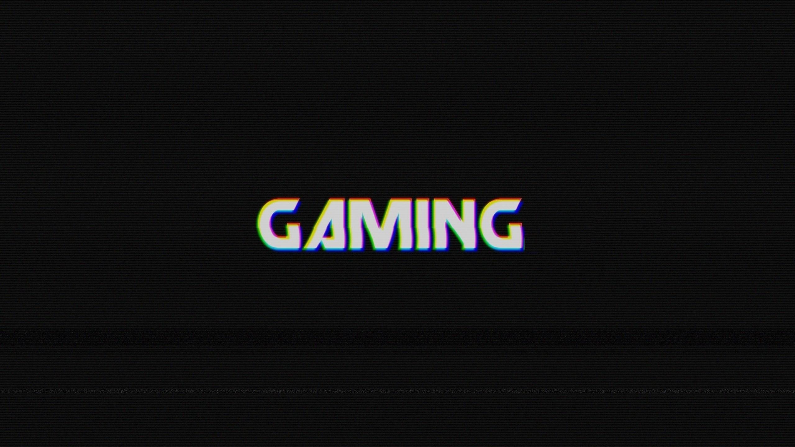Gaming Logo Wallpapers 2560x1440
