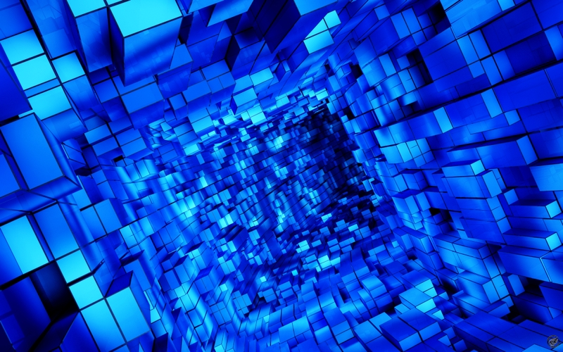 blueabstract abstract blue cube 1920x1200 wallpaper Blue 800x500