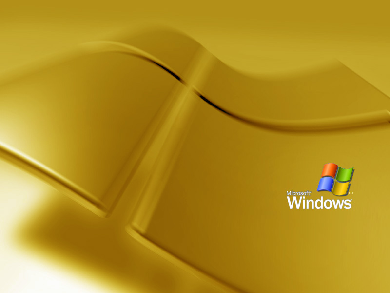 XP Gold Wallpaper Wallpaperusfxpbmwvistatoolbar 800x600