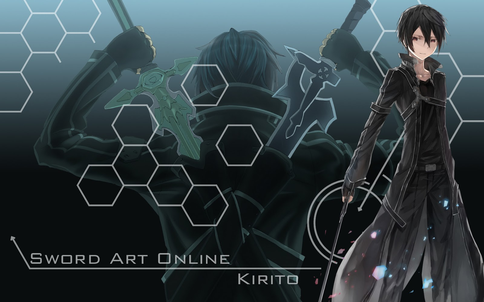 Kirito Wallpaper Perfect Wallpaper 1600x999
