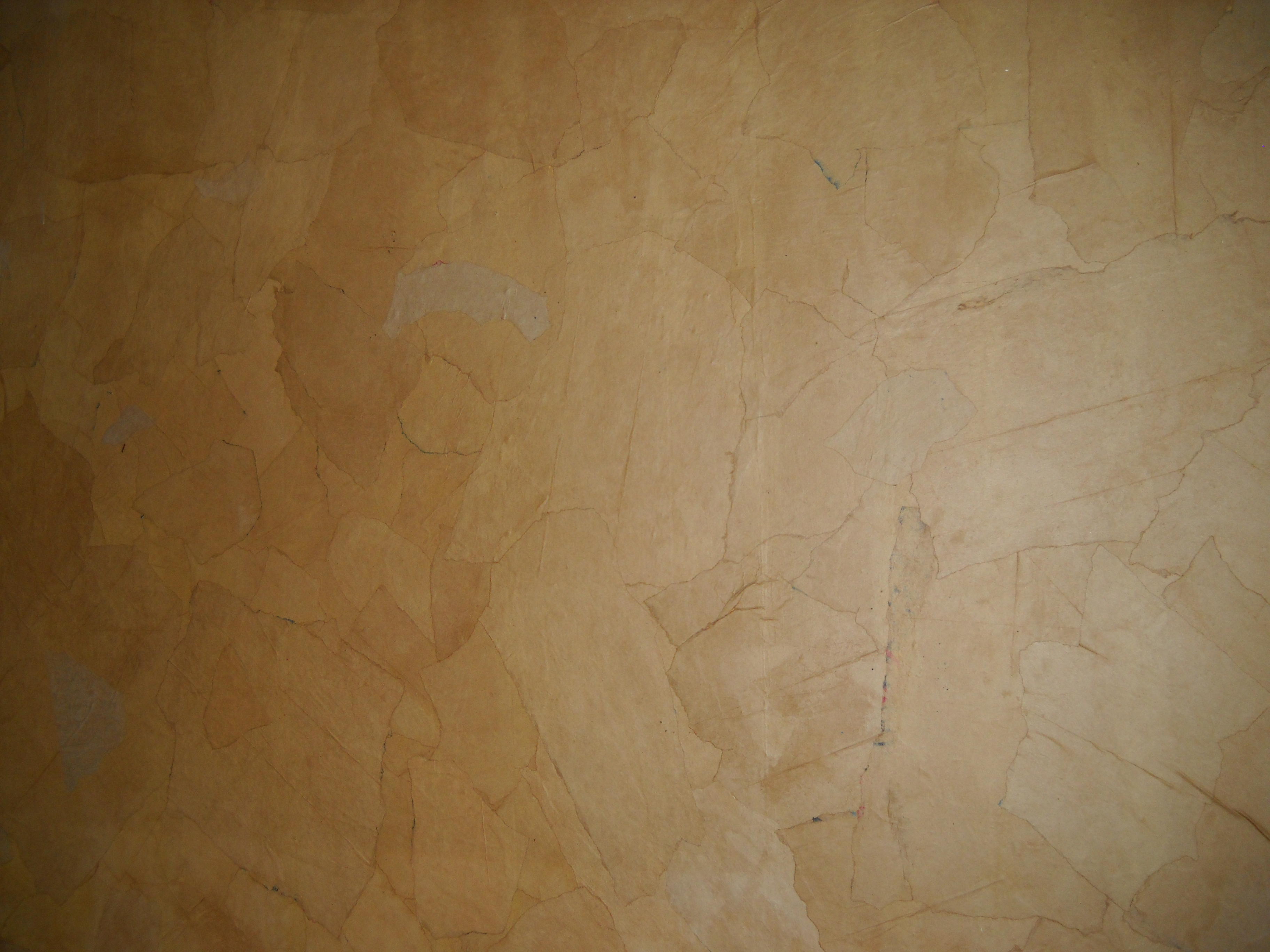 wallpaper Use wallpaper paste to glue to wall and then a coat over t 3648x2736