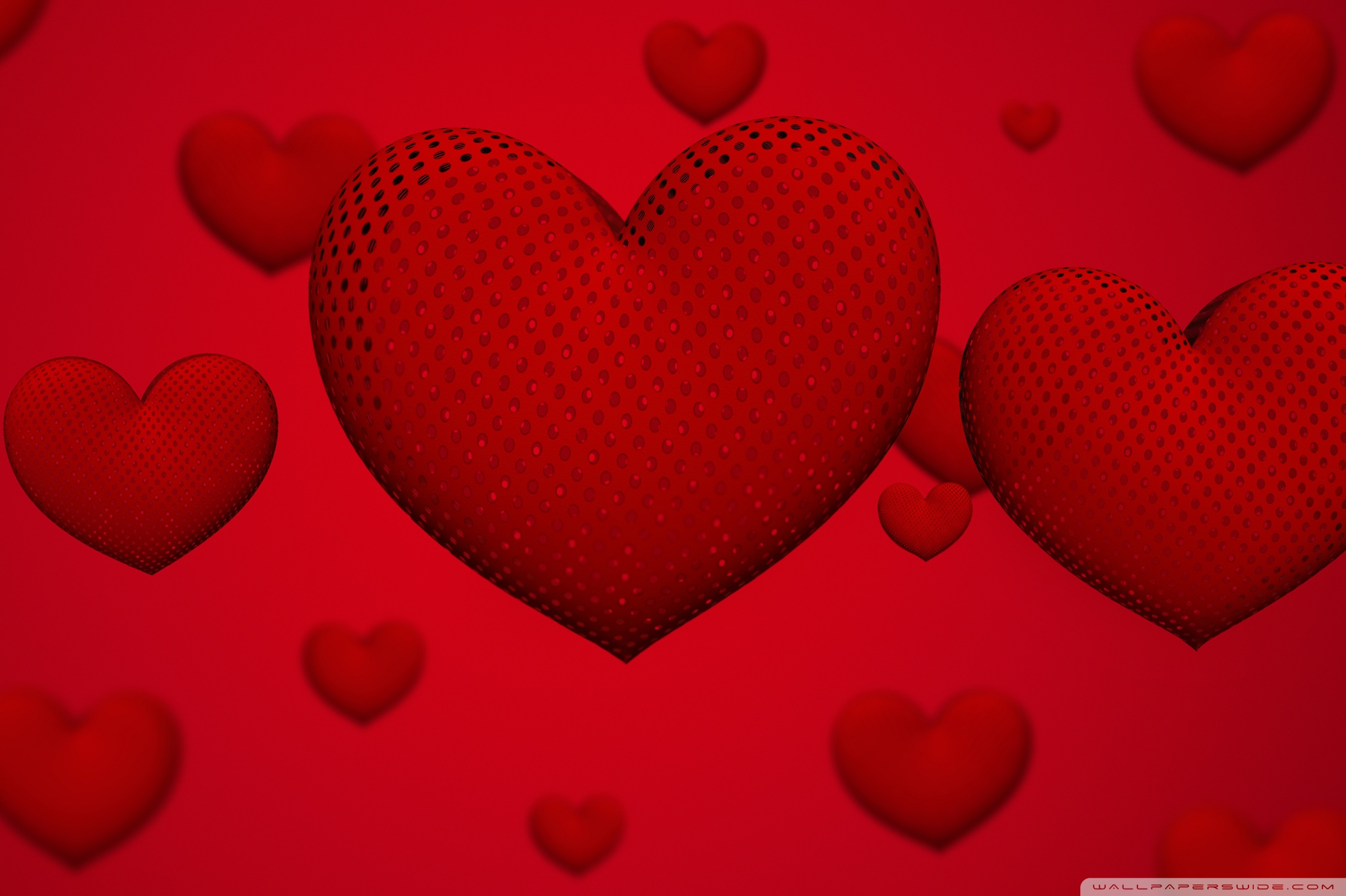 Valentines Day Hearts Ultra HD Desktop Background Wallpaper for 2000x1333