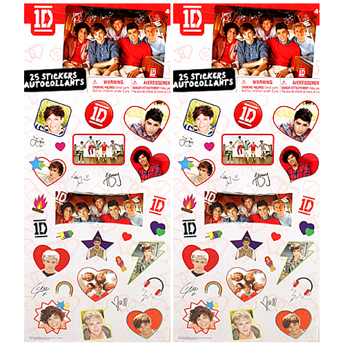 One Direction Stickers Target 1d one direction sticker 500x500