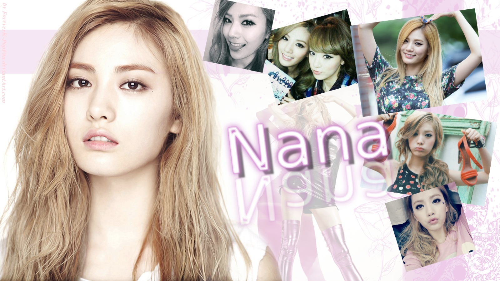 After School Nana Wallpaper by ForeverK PoPFan 1600x900