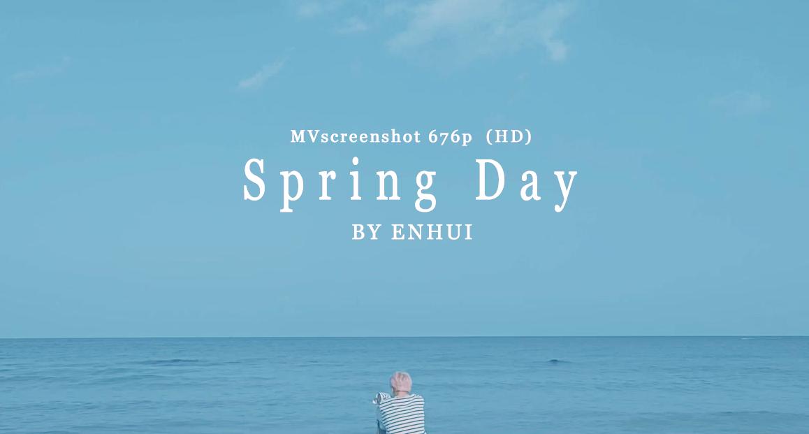 download BTS Spring Day MV Screenshot 676P HD by PuEnHui 1158x621