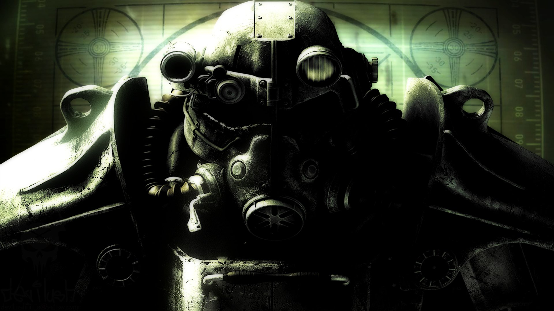 Fallout 3 BoS HD Wallpaper Fallout 3 Brotherhood of Steel Wallpaper 1920x1080