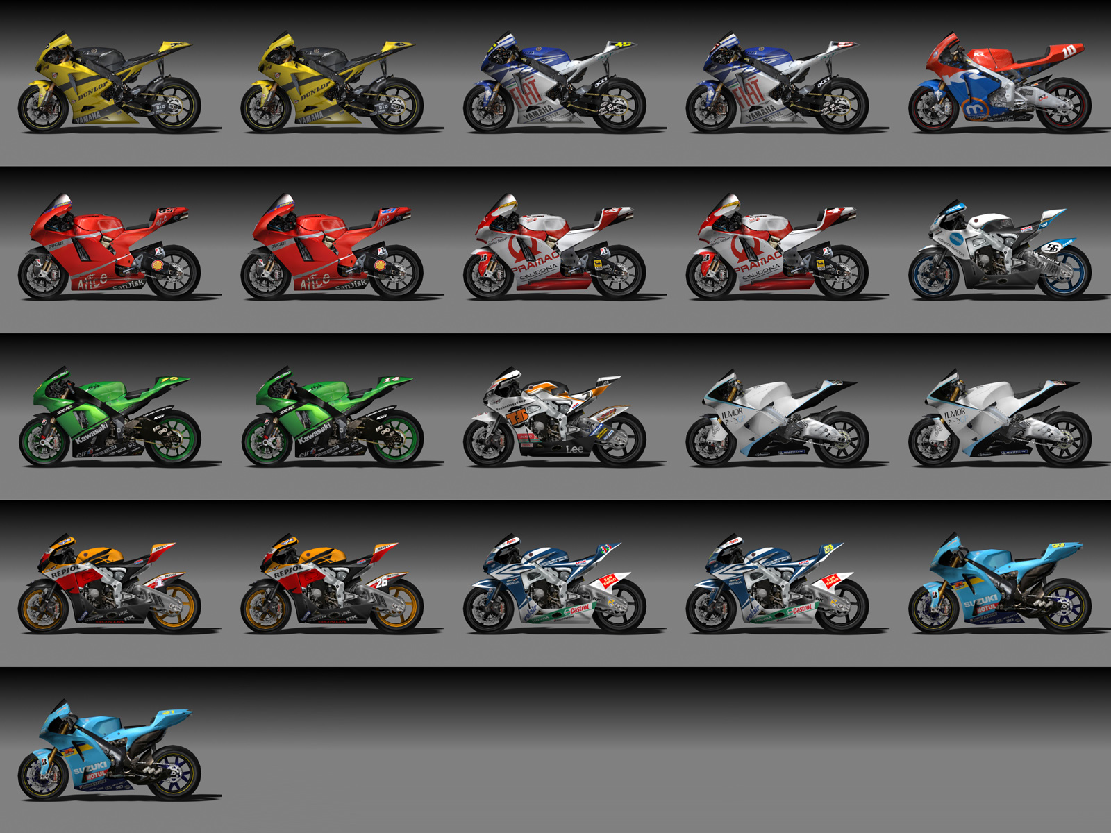 Motorcycle In MotoGP Wallpaper 1600 x 1200 Wallpaper with 1600x1200 1600x1200