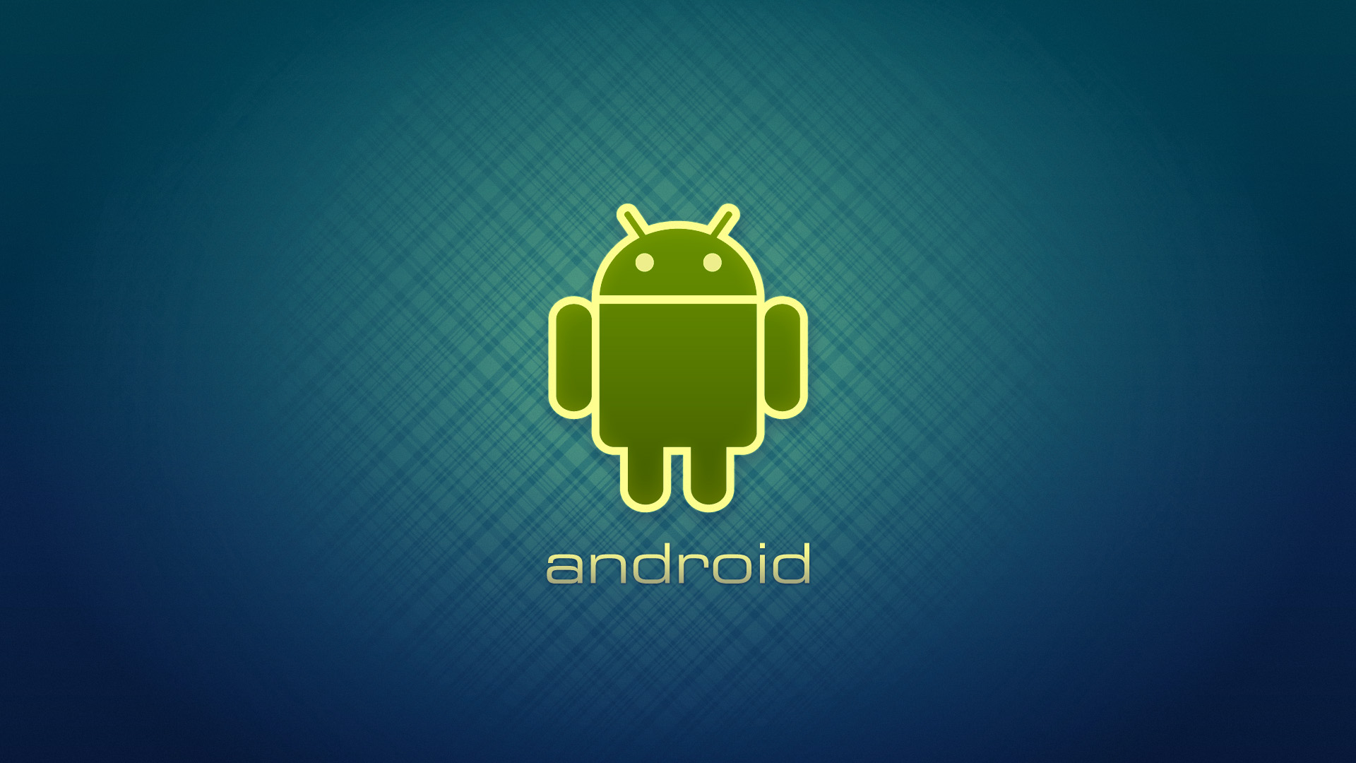 android wallpaper with blue background 1920x1080