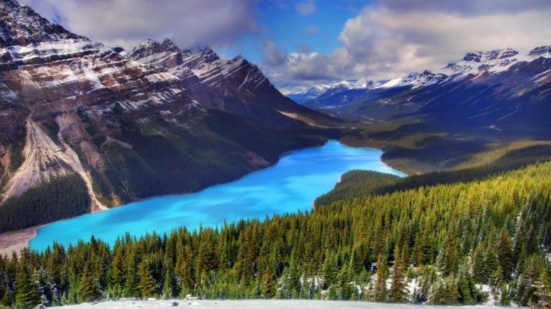 Moraine Lake Canada HD Wallpaper   WallpaperFX 804x452