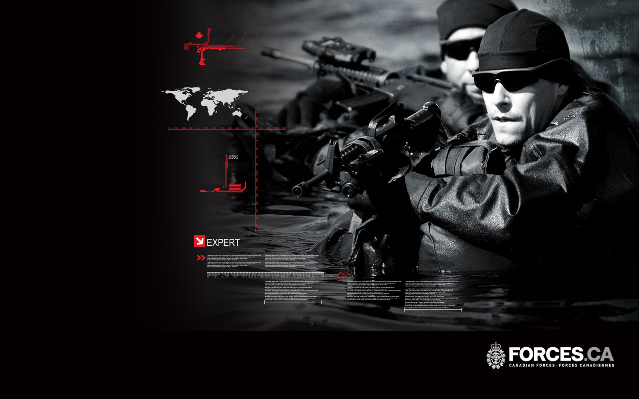 Pin Canadian Forces Wallpaper 1280x800