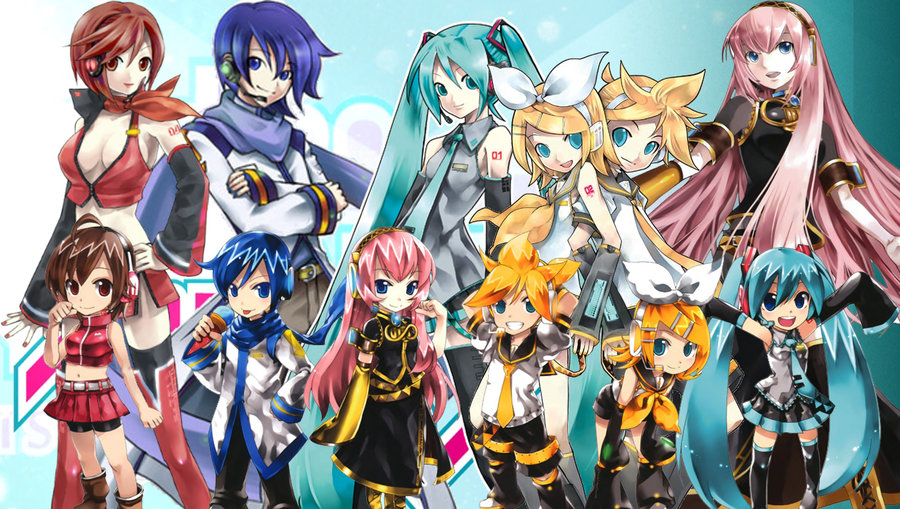 vocaloid characters wallpapers - photo #10