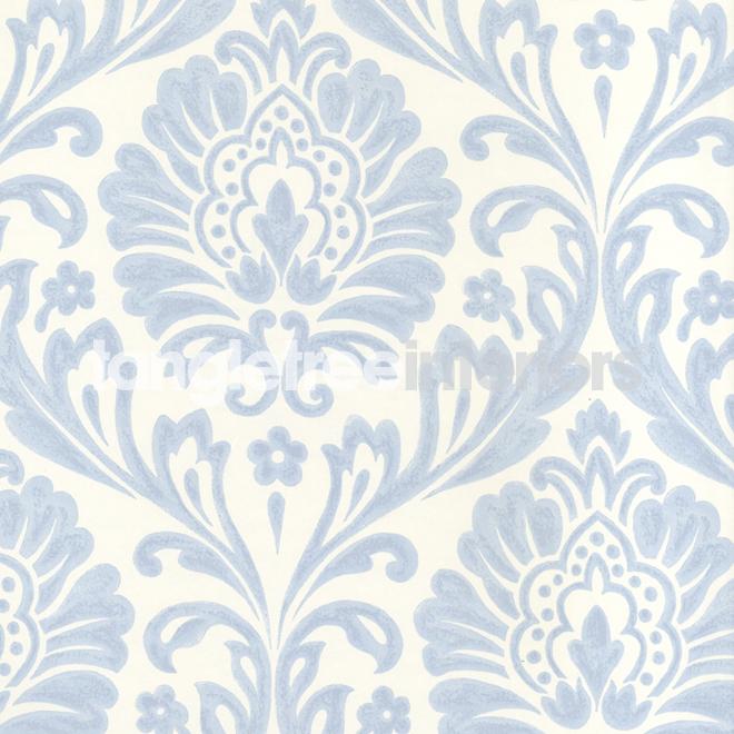 Blue Damask Wallpaper Wallpaper 660x660