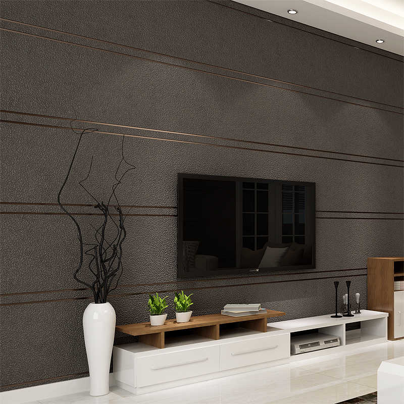 Modern Simple Suede Marble Stripes Wallpaper For Walls Roll Papel 800x800