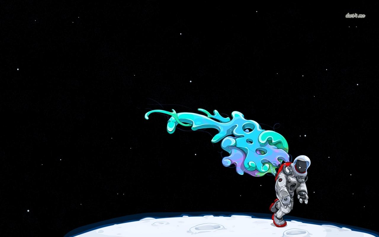 astronaut on moon wallpaper - photo #25