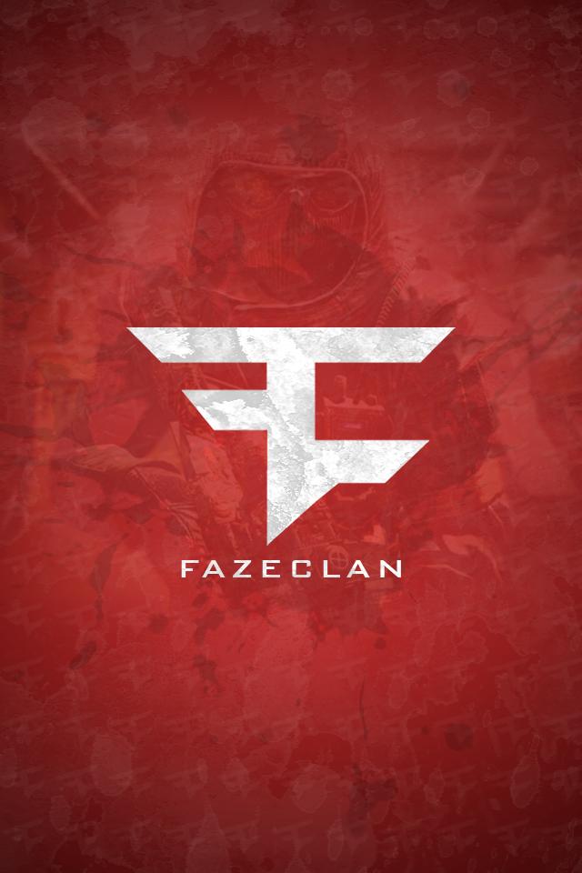 FaZe Logo iPhone Wallpaper 640x960
