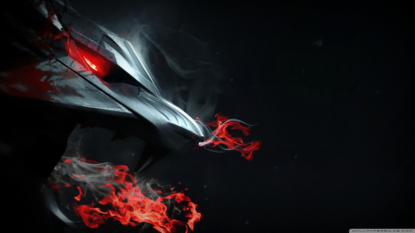 Free Download Red Dragon Wallpaper 1366x768 For Your Desktop