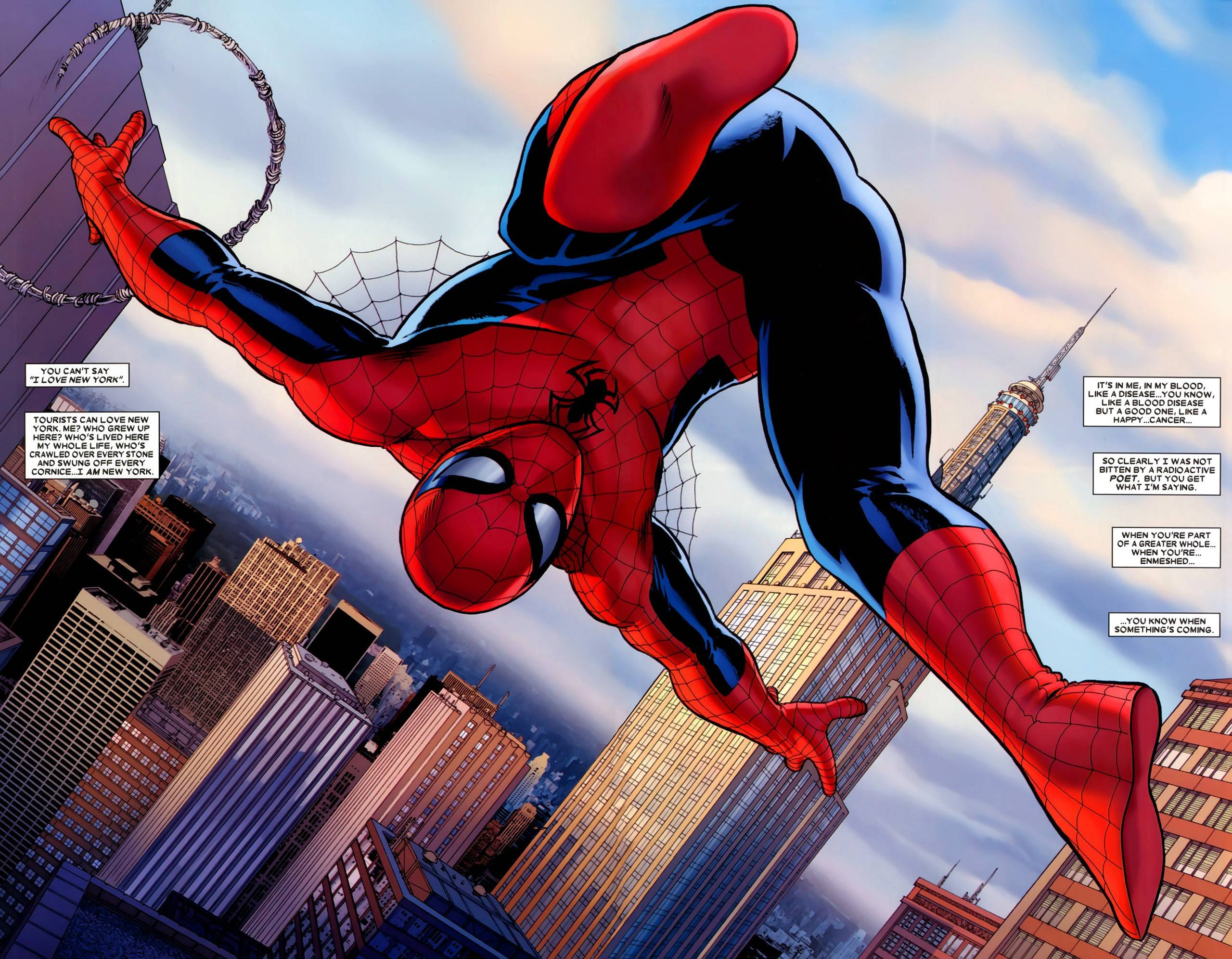 Spider Man reboot at Marvel and Sony has found its two co writers 2560x1992