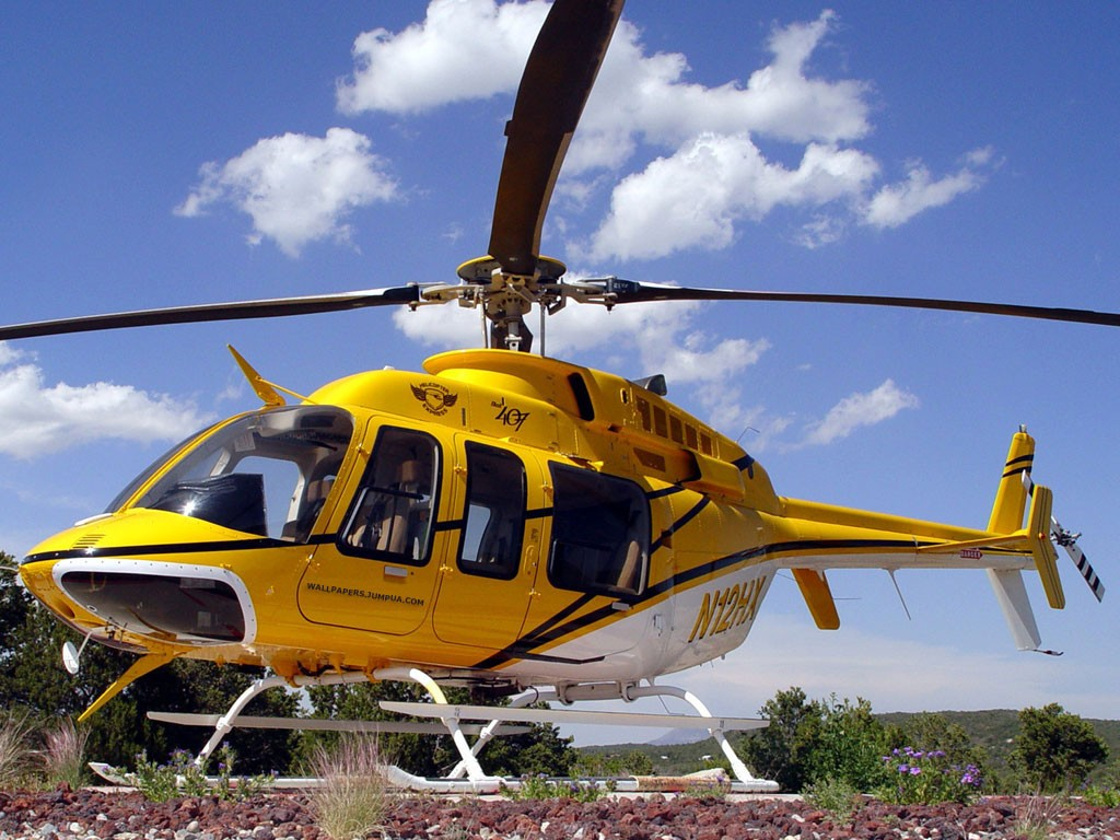 Bell Helicopter Wallpaper Background HD 1024x768