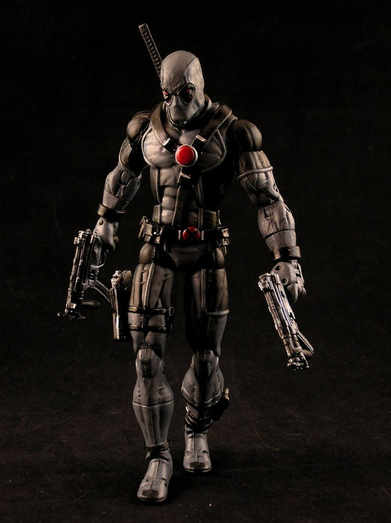 Force Deadpool x3 by AnthonysCustoms 773x1033