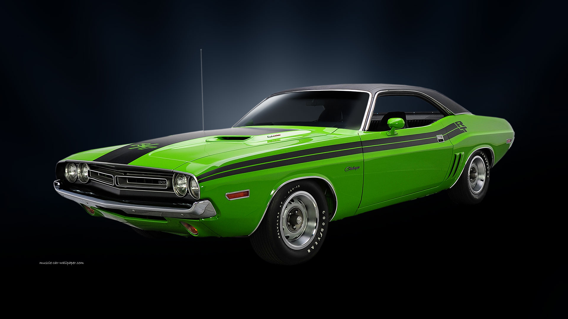 Muscle Cars Dodge Challenger Rt Mopar High Wallpaper With 1920x1080 1920x1080