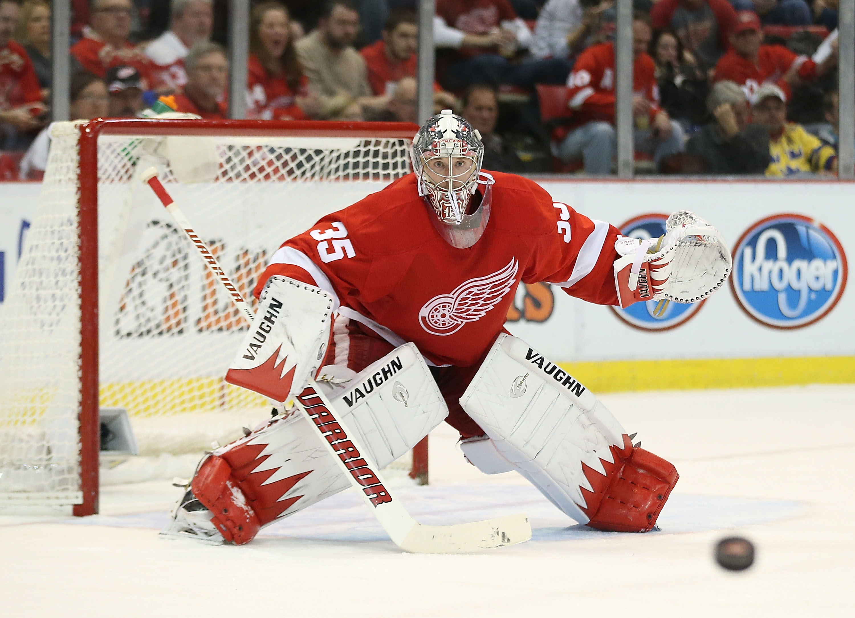 Jimmy Howard Jimmy howard 35 of the 3000x2171