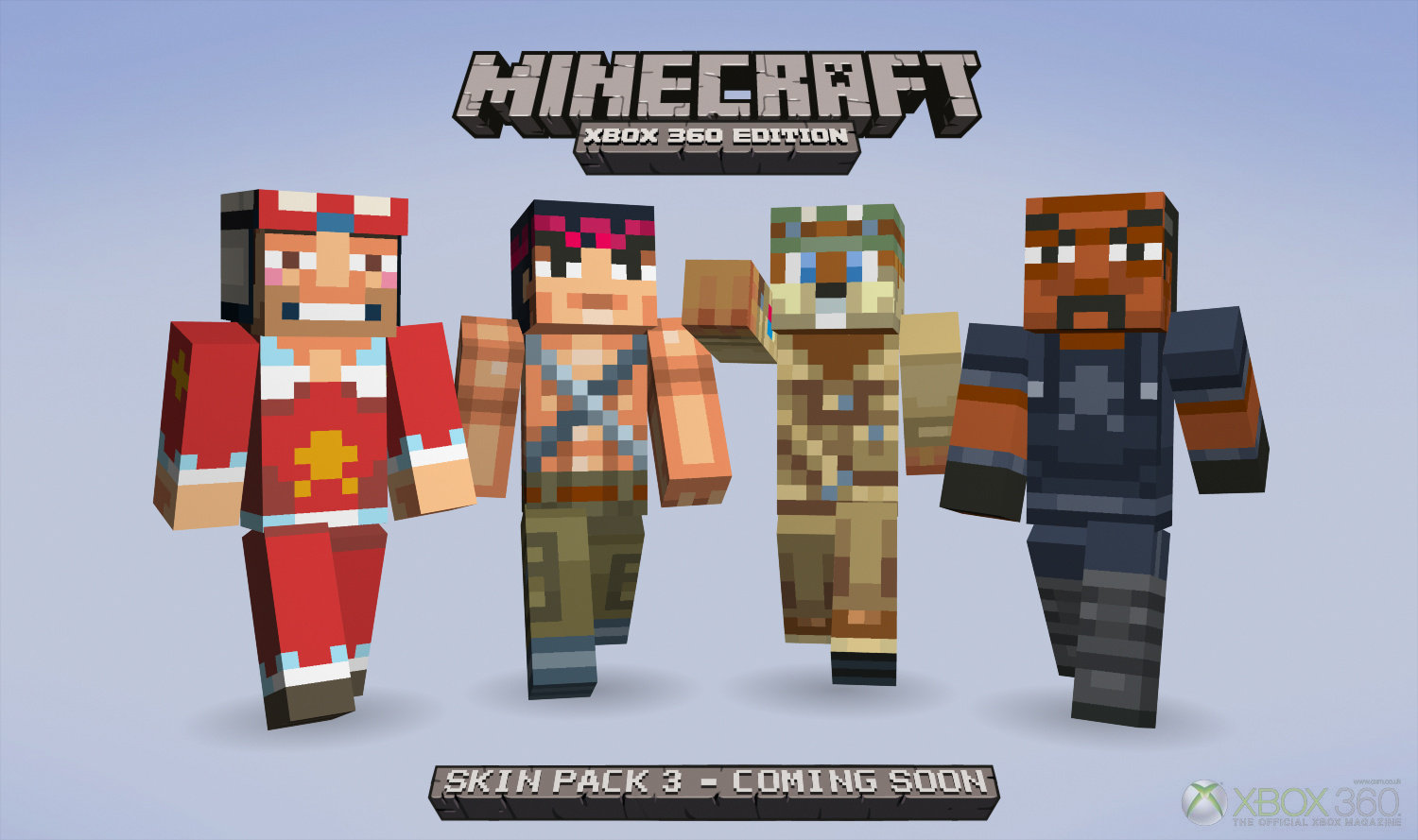 Minecraft Skin XBOX 360 HD Wallpaper of Minecraft   hdwallpaper2013 1500x889