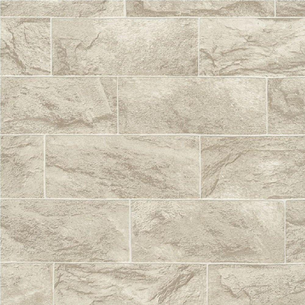Erismann Brix Rectangular Stone Block Wallpaper 1000x1000