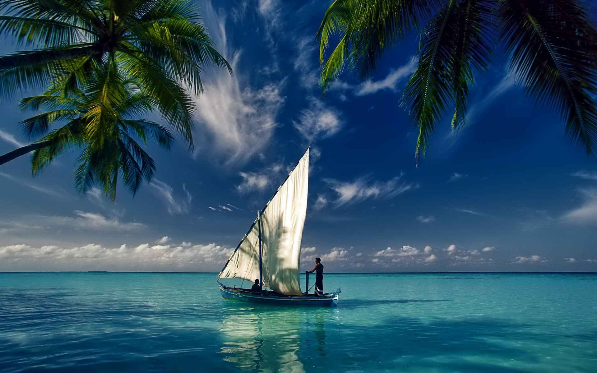 Hd sailboat wallpaper wallpapersafari for Screensaver inter gratis