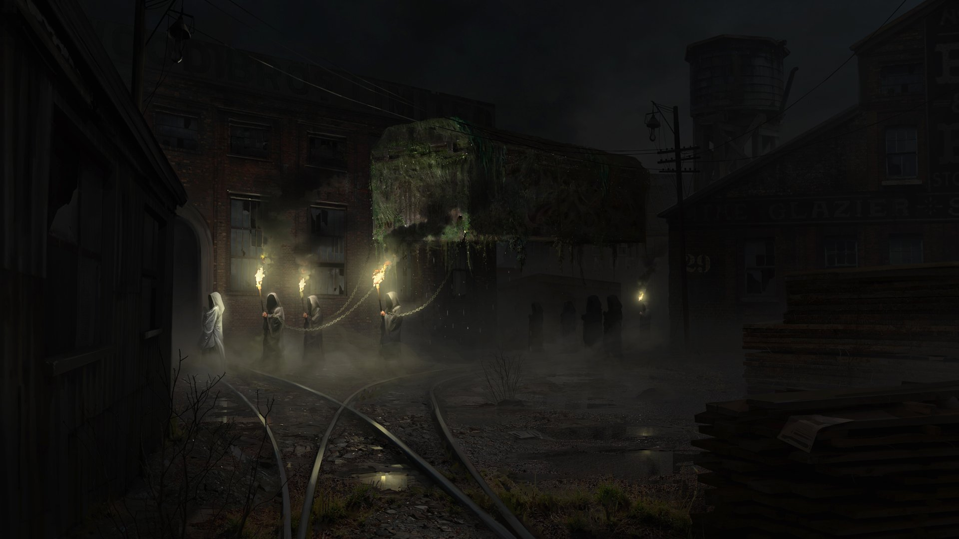 Nights ritual Wallpaper from The Sinking City gamepressurecom 1920x1080