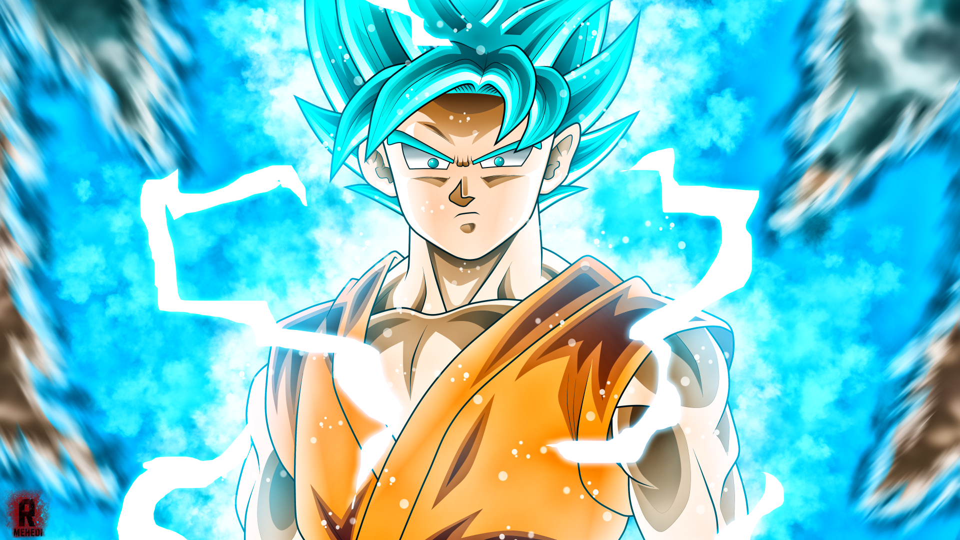 Free Download Goku Super Saiyan Blue Wallpaper Hd 1920x1080 For