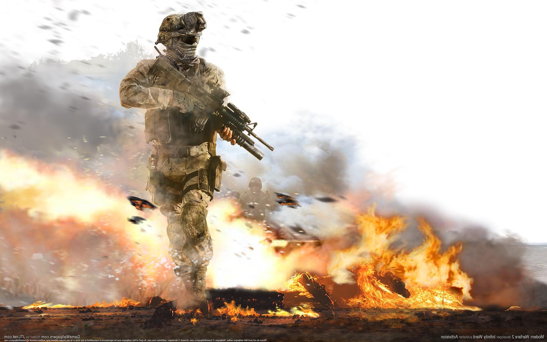Call of Duty Modern Warfare  № 3671624 бесплатно