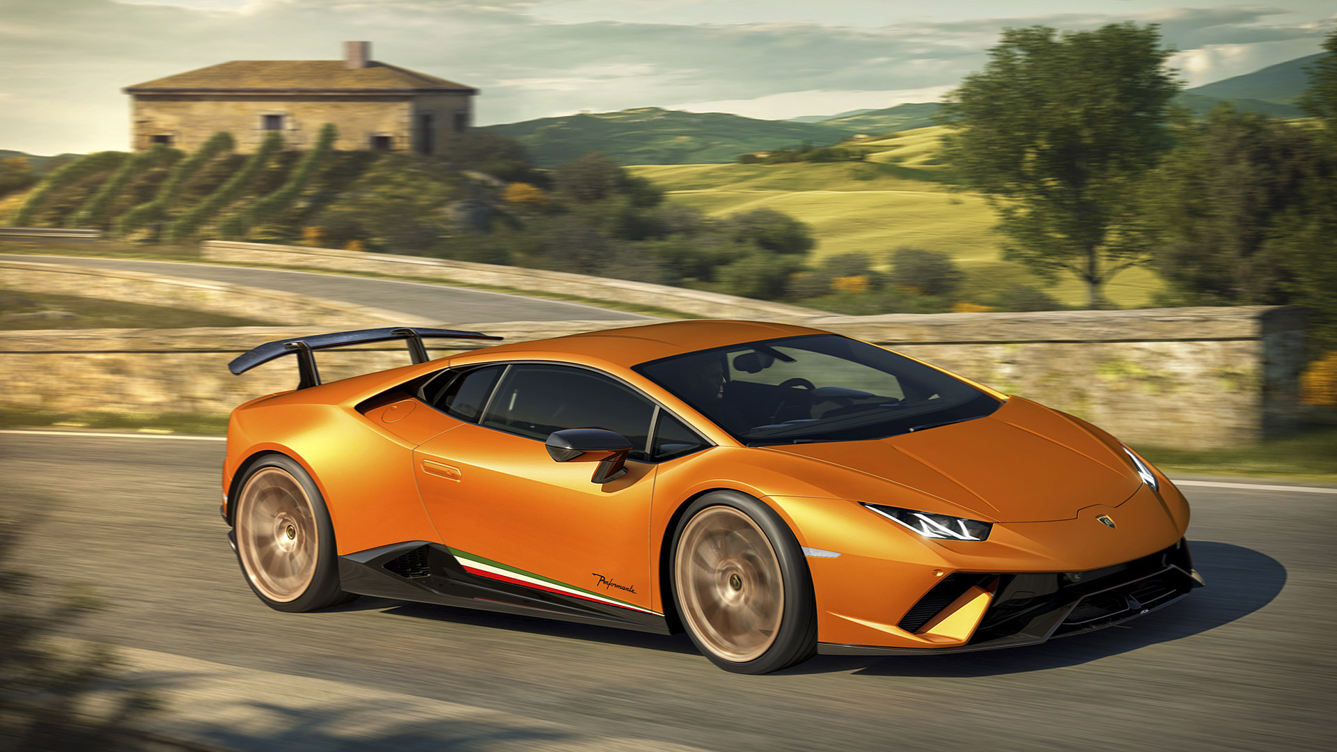 2018 Lamborghini Huracan Performante Wallpapers HD Images 1920x1080