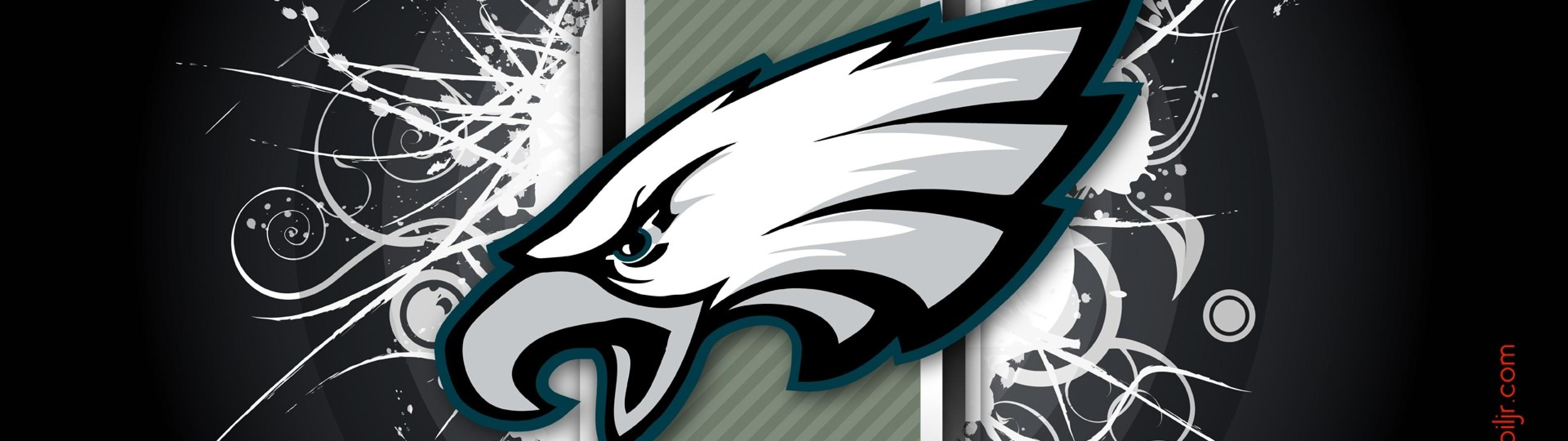 philadelphia eagles abstract sports best widescreen background awesome 3840x1080