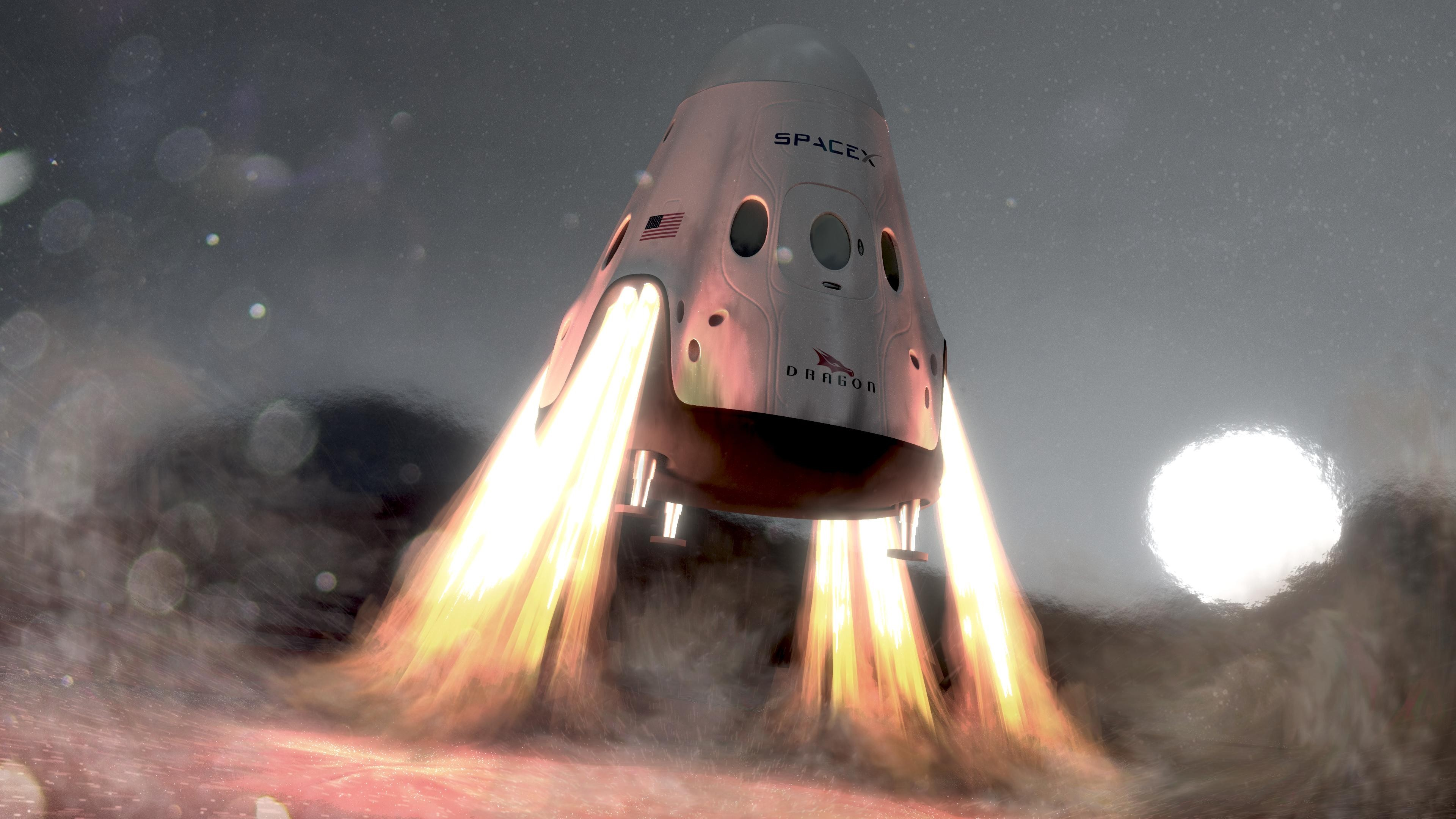 Best 51 SpaceX Dragon Wallpaper on HipWallpaper Awesome Dragon 3840x2160