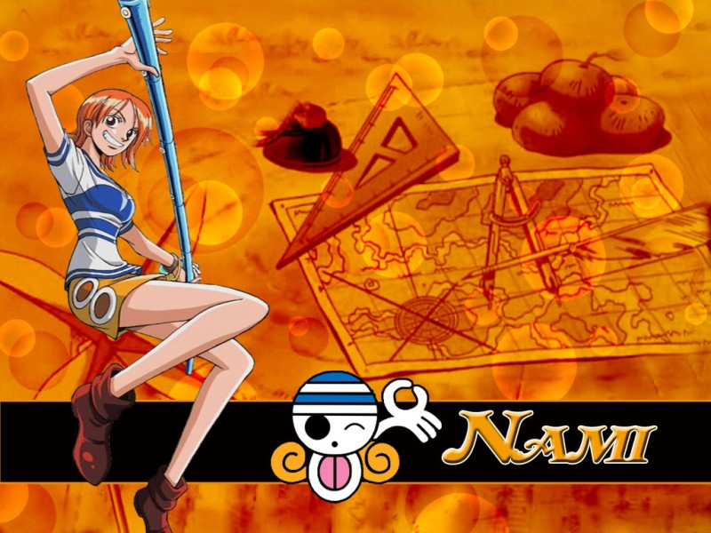 Download One Piece wallpaper One Piece Nami Jolly Roger 800x600