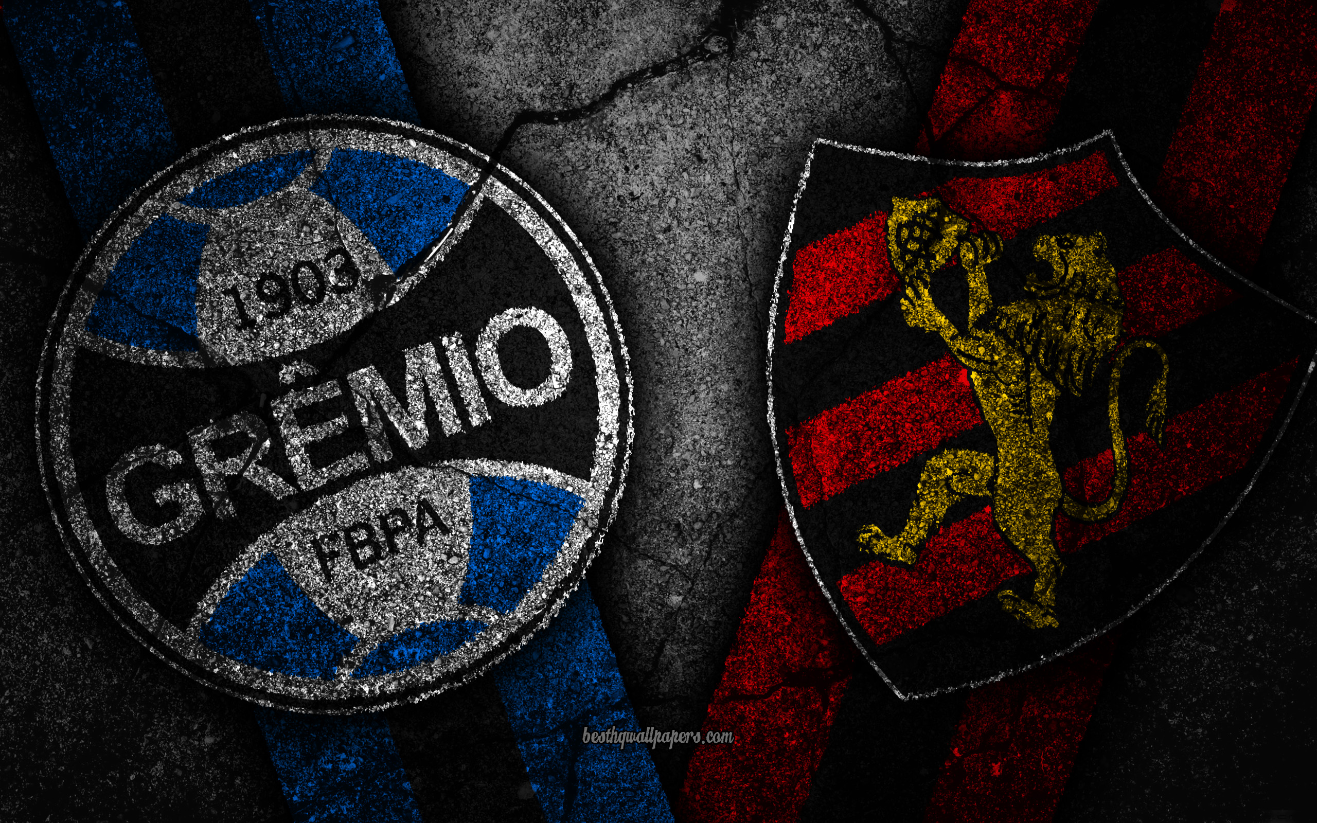 Download wallpapers Gremio vs Sport Recife Round 31 Serie A 2560x1600