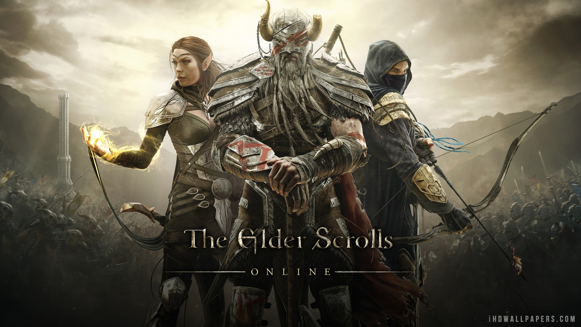 Free Download The Elder Scrolls Online 2013 Hd Wallpaper Ihd
