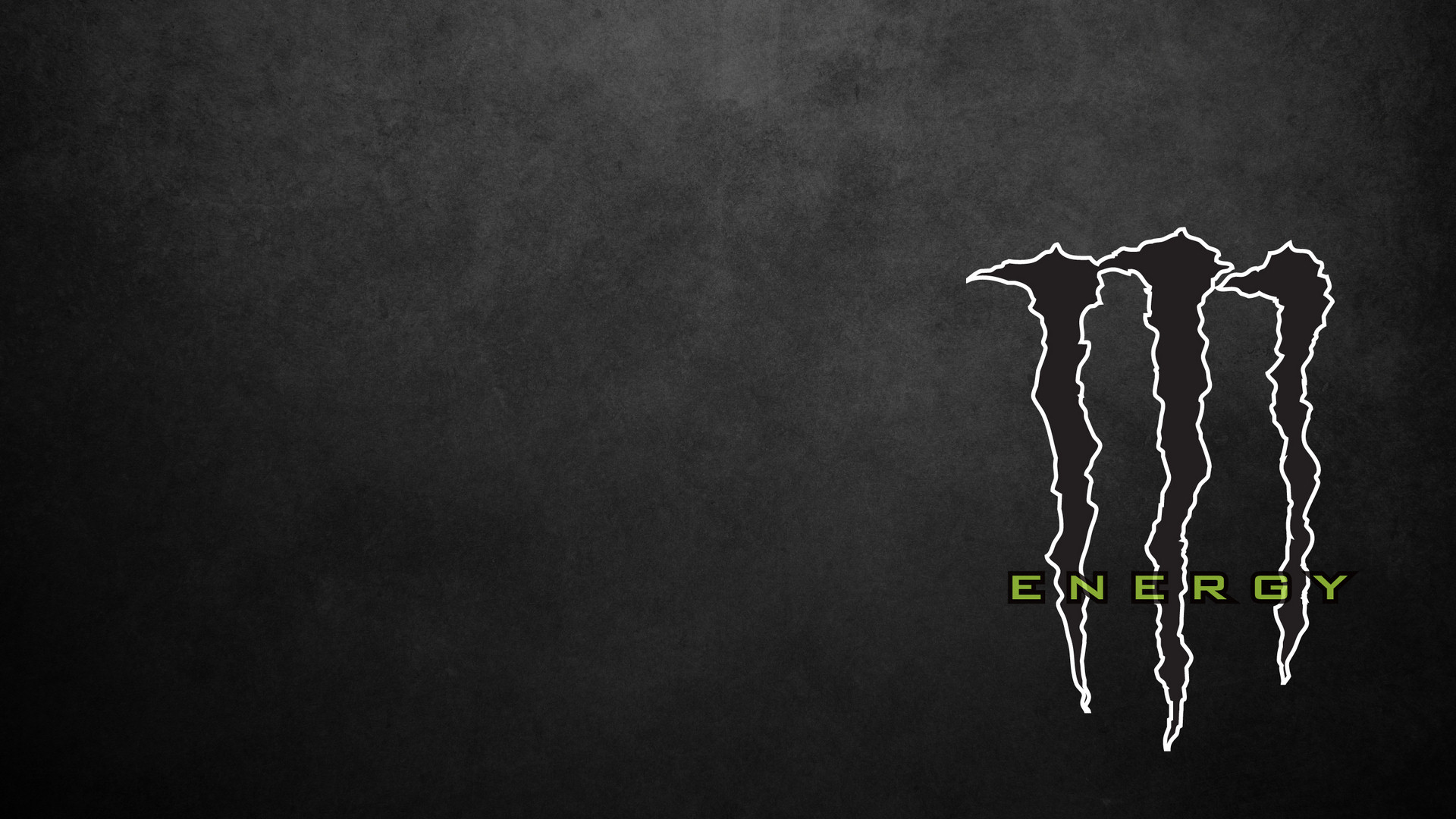 Black And White White Monster Logo Monster Energy Black White Energy 1920x1080