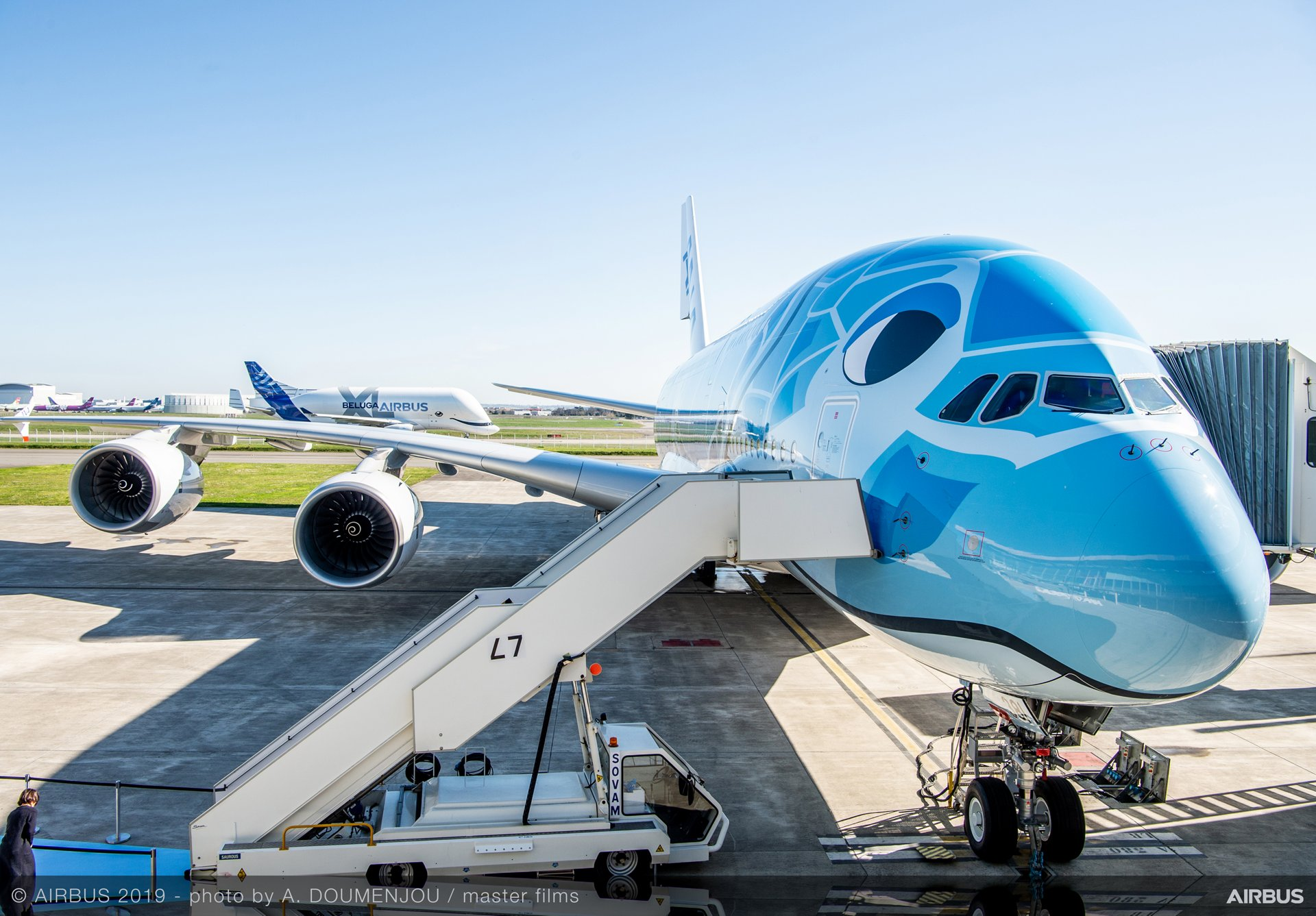 Konnichiwa All Nippon Airways receives its initial A380 1920x1337
