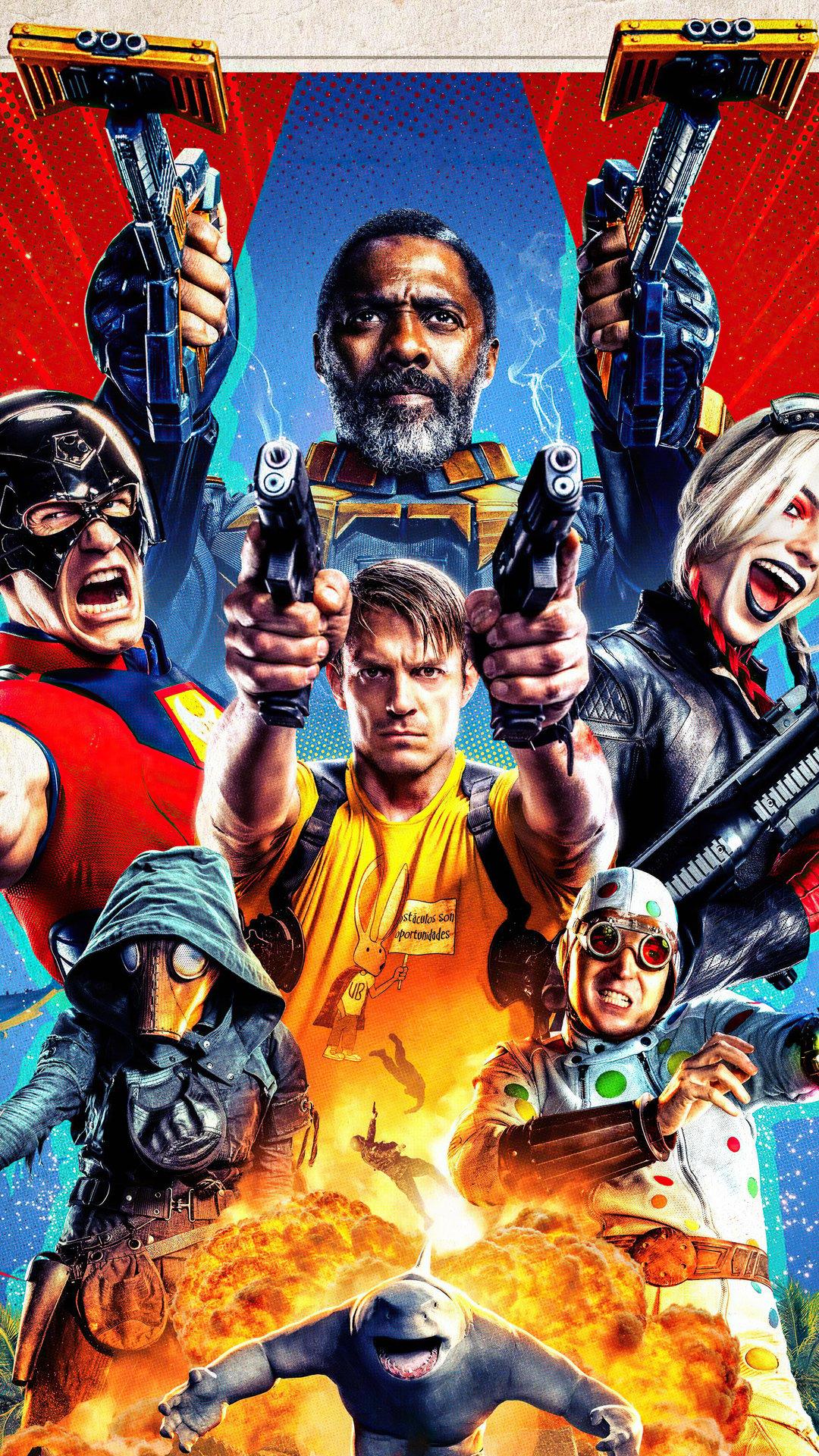 The Suicide Squad Wallpapers   Top 35 Best Suicide Squad 2 1080x1920