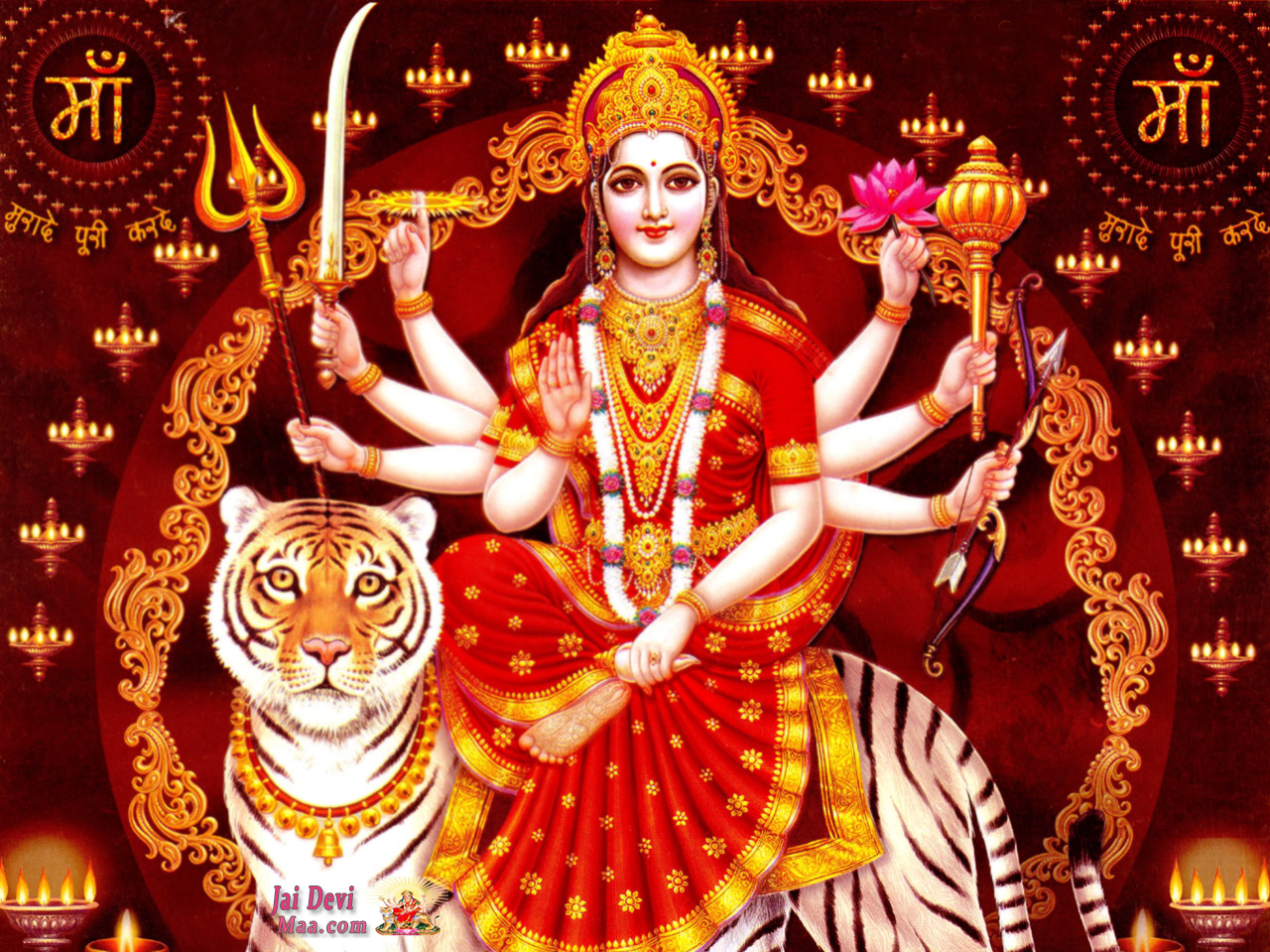 Maa Durga Pictures Wallpapers Images For Dussehra Download News 1280x959