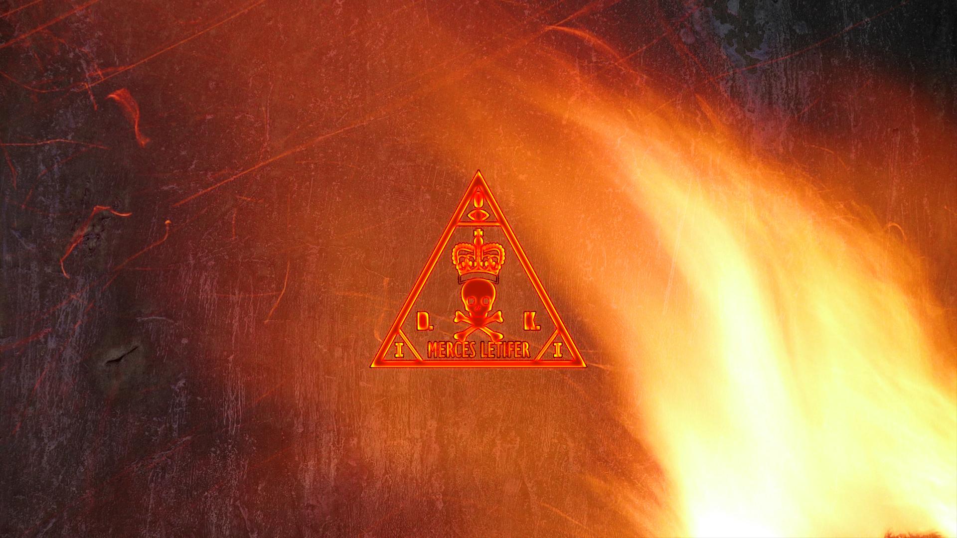 160dehitman agency logo wallpaper  fire  by bryssis d52w8b1jpg 1920x1080