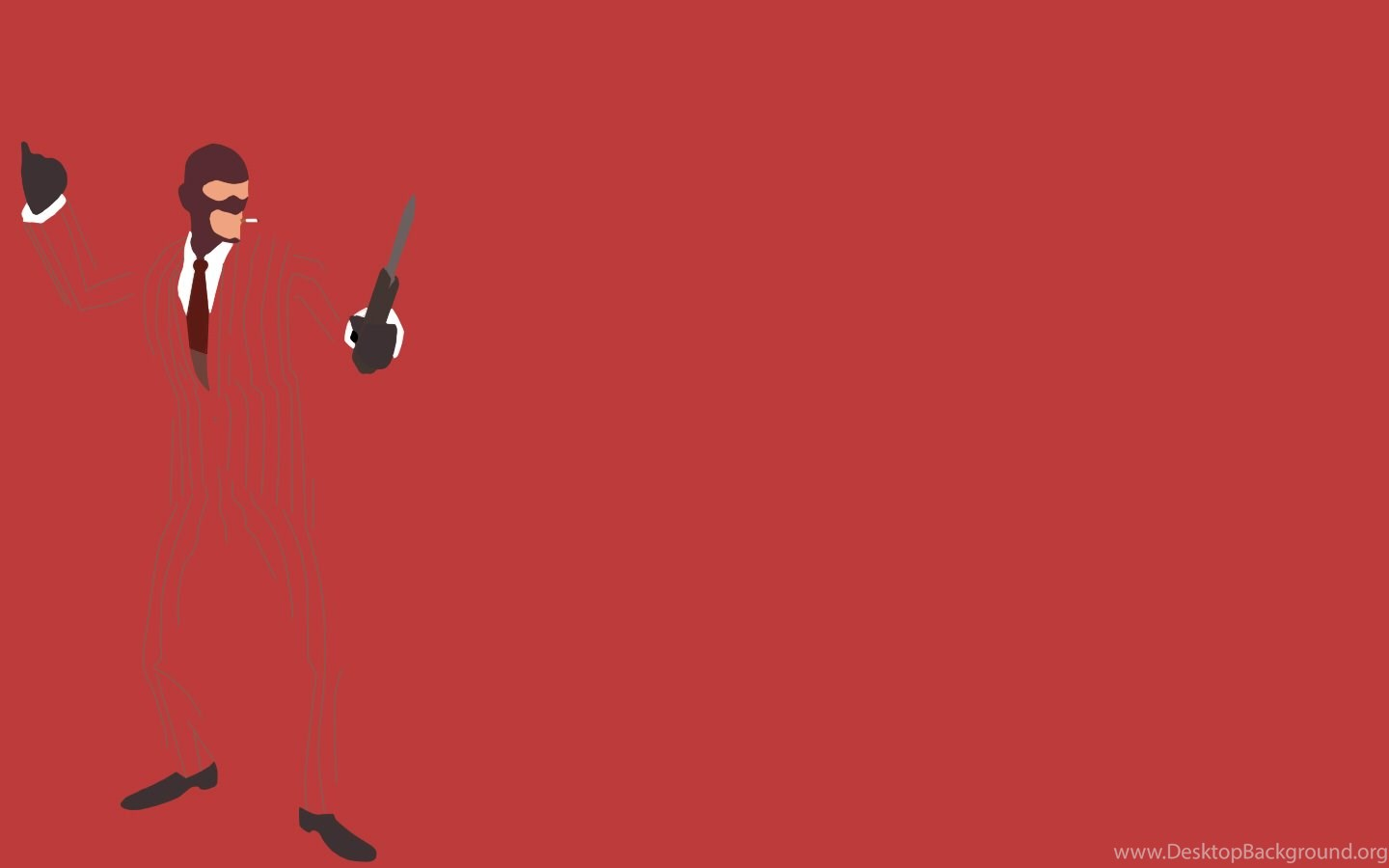 DeviantArt More Like TF2 Red Spy Minimalist Wallpapers By 1440x900