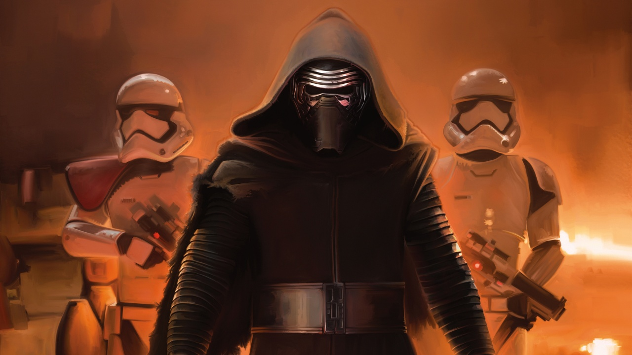 Star Wars The Force Awakens Kylo Ren Wallpapers HD Wallpapers 1280x720