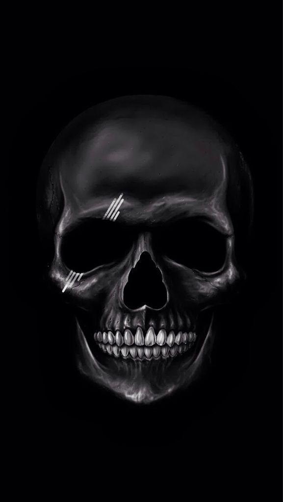 Pin by Anonymous on BLACKOUT Skull wallpaper Dark wallpaper 577x1024