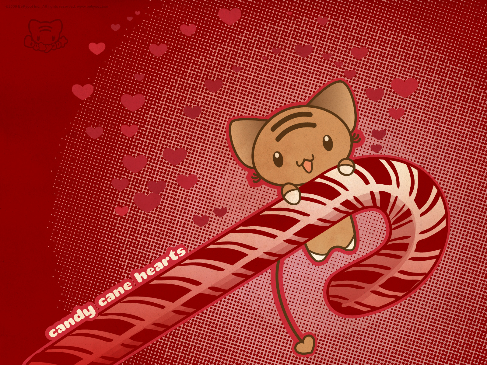 Candy Canes images candy cane cat HD wallpaper and 1600x1200