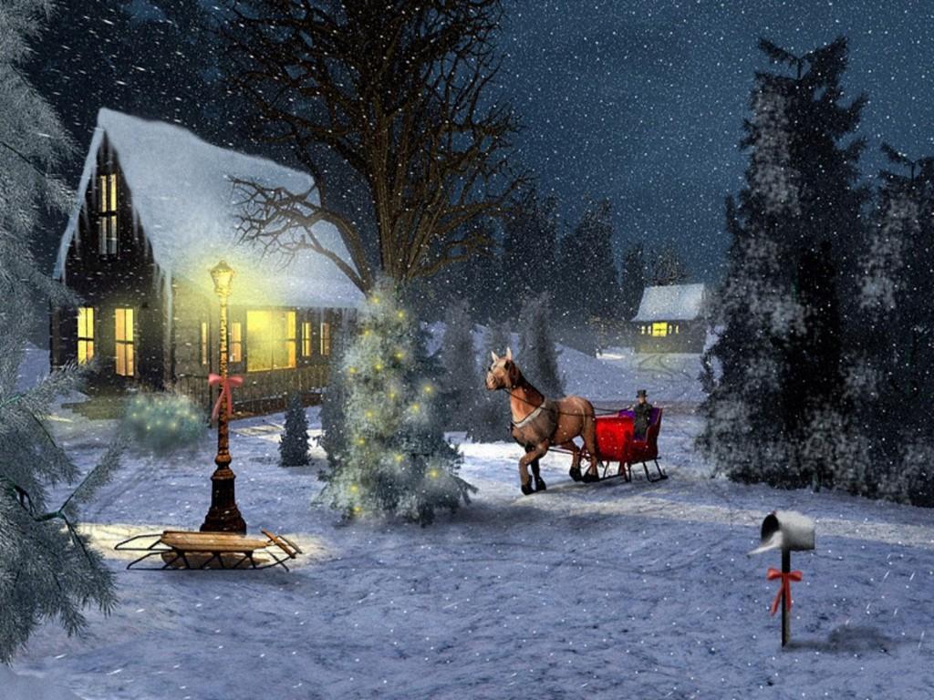 Free Winter Wonderland Wallpaper - WallpaperSafari