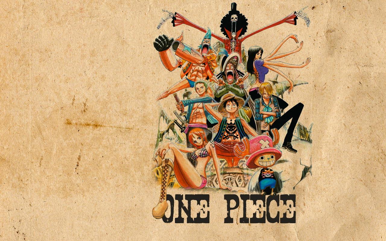 3d wallpapers One Piece Wallpaper 1280x800