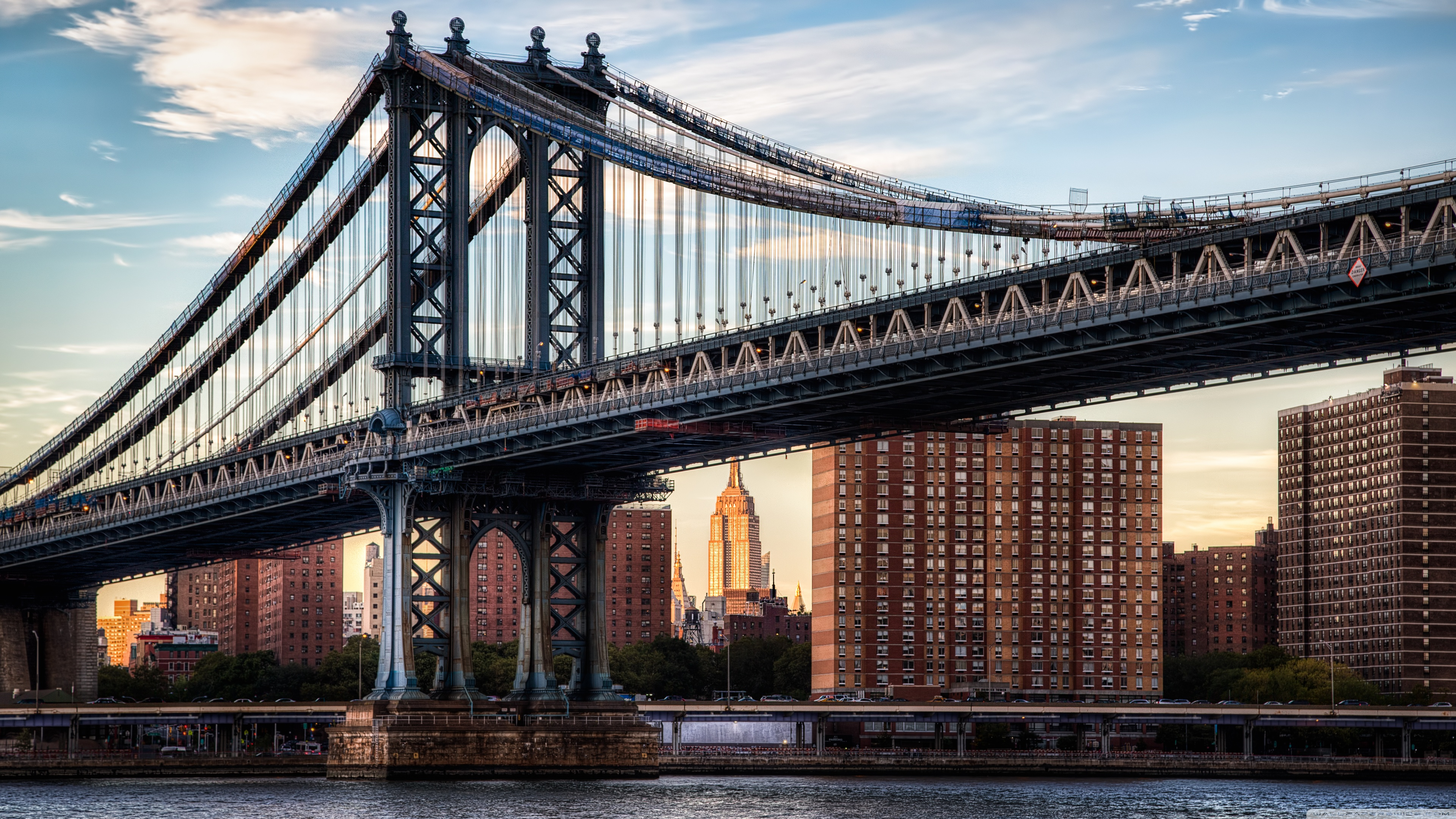 Manhattan Bridge Wallpapers and Background Images   stmednet 3840x2160